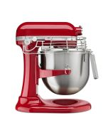 KitchenAid Empire Red Commercial Stand Mixer & Bowl Guard - KSMC895ER