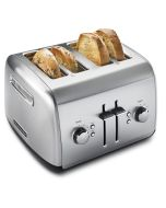 4-slice Manual High-Lift Lever Toaster by KitchenAid - Brushed Stainless