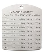 RSVP Stainless Steel Magnetic Conversion Chart