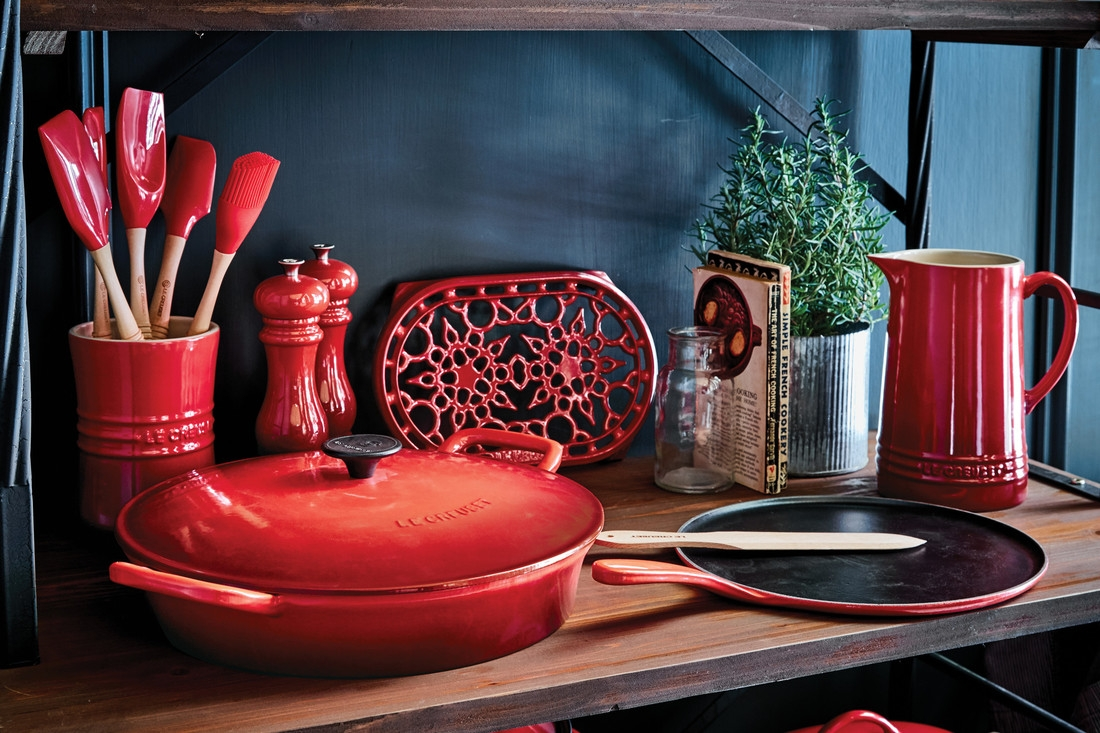 Le Creuset Pepper Mill Cerise Cherry Red Everything Kitchens