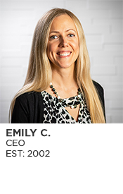 Emily Church, CEO, Est. 2001