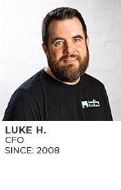 Luke H., CFO and Human Resources, Since 2008
