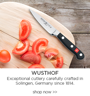 Wusthof exceptional cutlery carefully crafted in solingen, germany since 1814. shop now