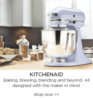 KitchenAid Baking, brewing, blending and beyond. all designed with the maker in mind. shop now