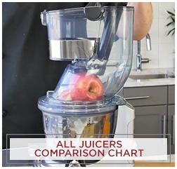 Juicer Comparison Chart