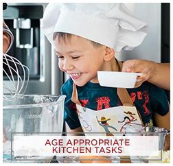 Age Appropriate Kitchen Tasks