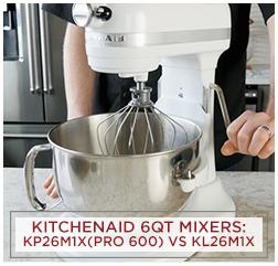 KitchenAid Pro 600 vs KL