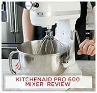 Kitchenaid Professional 600 Mixer Review