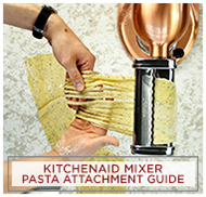 KitchenAid Mixer Pasta Attachment Guide