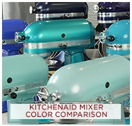 KitchenAid Mixer Colors - Mixer Color Comparisons