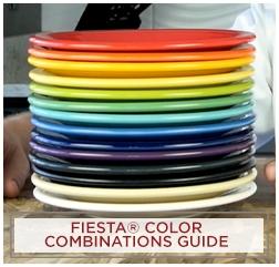 Fiesta Color Combinations Guide