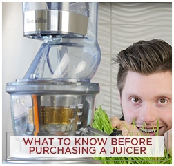 What to Know Before Purchasing a Juicer