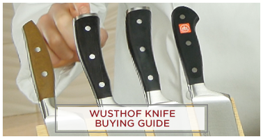 Wusthof Knife Buying Guide - Series Overview - Gourmet, Classic, Ikon, Epicure, Pro Series