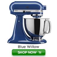 KitchenAid Artisan Shop Now Color Button-Blue Willow