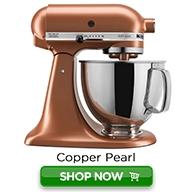 KitchenAid Artisan Shop Now Color Button-Copper Pearl