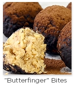 Butterfinger Bites with Nesco Food Dehydrator