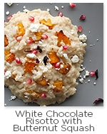 White Chocolate Risotto with Butternut Squash Recipe with Askinosie White Chocolate