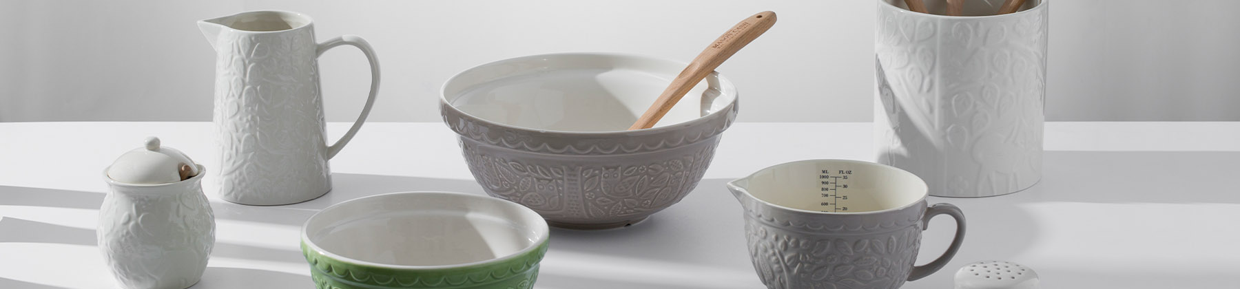Photo of Mason Cash bakeware In the Forest collection.
