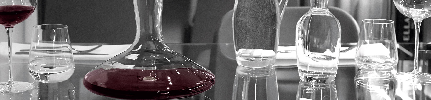 Photo of decanters and carafes.