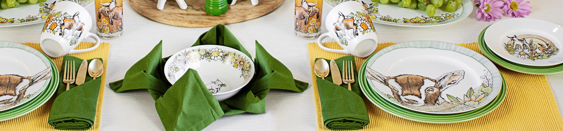 Photo of Everything Kitchens exclusive dinnerware set.