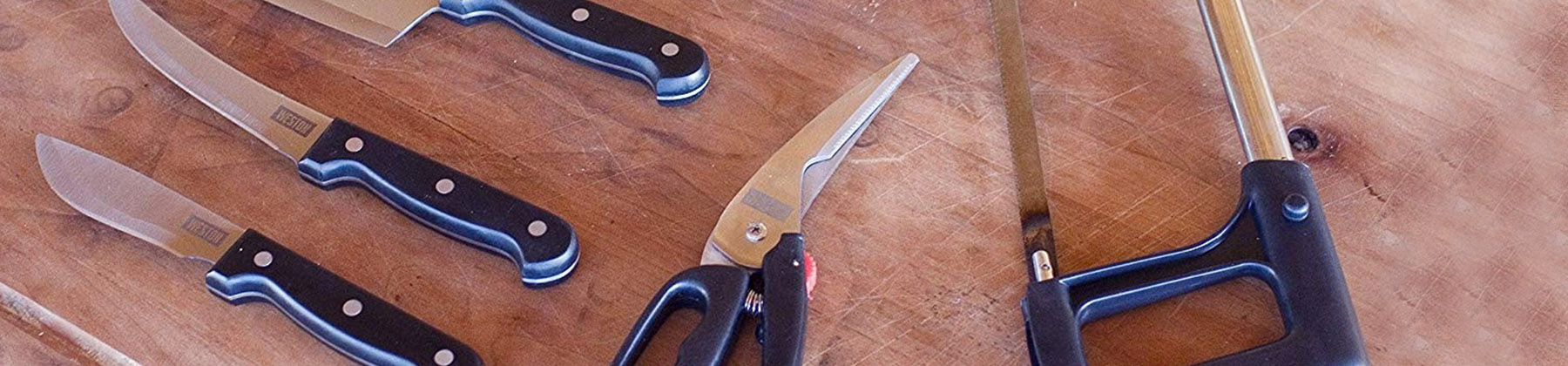 Photo of knife sets.
