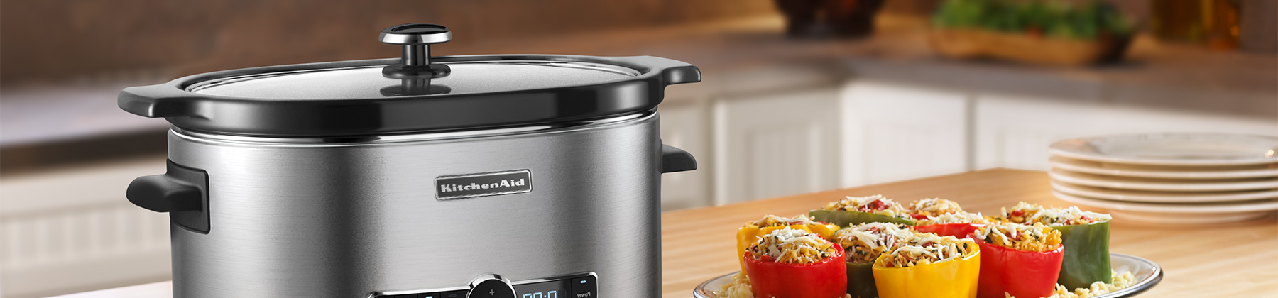 Photo of slow cookers.