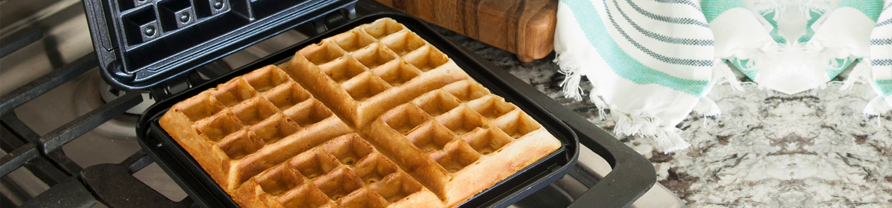 Photo of waffle makers.