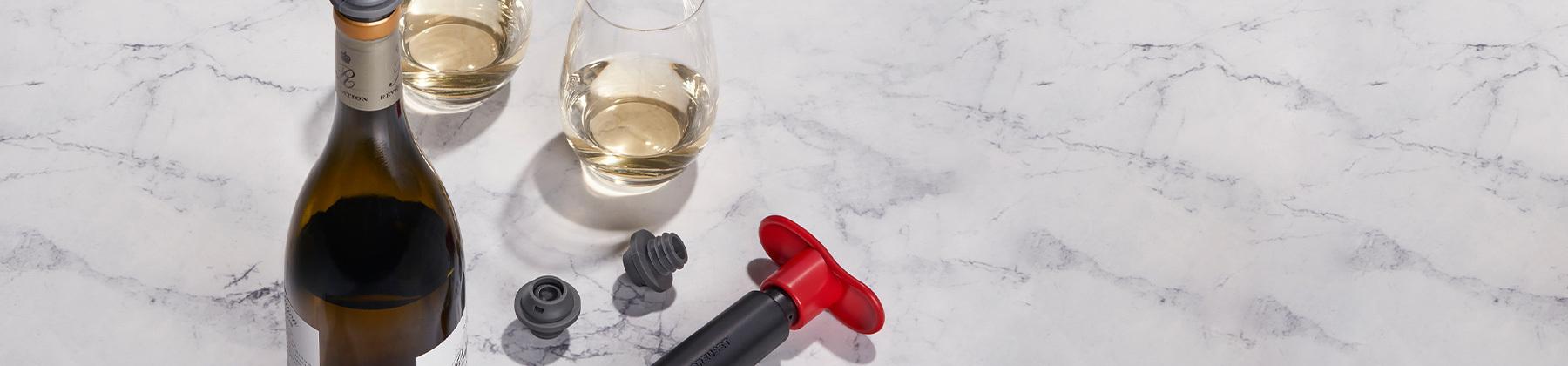 Photo of wine tools.