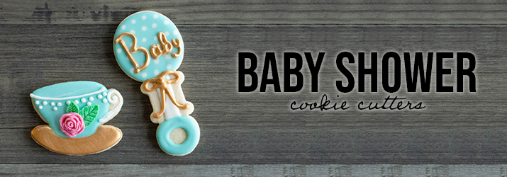 Shop Baby Shower Cookie Cutters